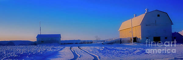 Photograph - Mchenry Barn Union by Tom Jelen