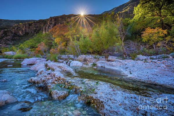 Nps Photograph - Mckittrick Sunrise by Inge Johnsson