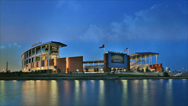Wall Art - Photograph - Mclane Stadium -- Baylor University by Stephen Stookey