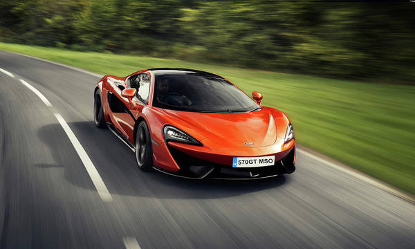 Photograph - Mclaren 570 G T M S O by Movie Poster Prints
