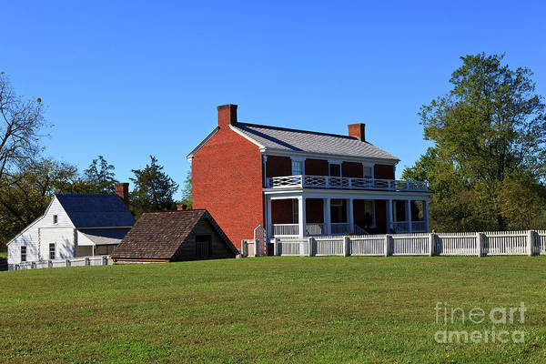 Photograph - Mclean House In Appomattox by Jill Lang