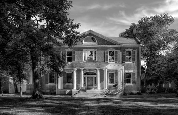 Greek Revival Architecture Photograph - Mcmeeking-muir House - Bardstown - 1820 - 2 by Frank J Benz