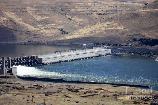 Photograph - Mcnary Dam by Carol Groenen