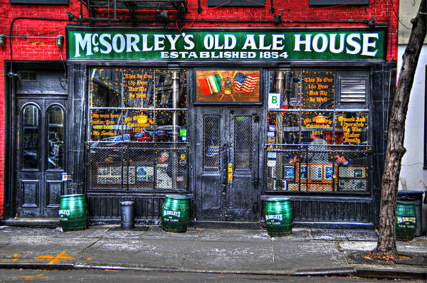 Wall Art - Photograph - Mcsorley's  In Color by Randy Aveille