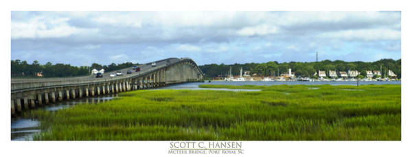 Mcteer Bridge Art Print
