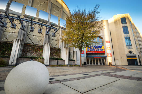 Photograph - Mcwane Science Center In Birmingham Alabama by Michael Thomas