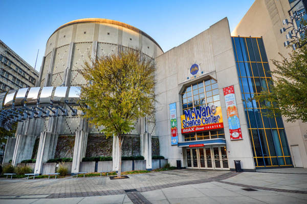 Photograph - Mcwane Science Center V2 In Birmingham Alabama by Michael Thomas