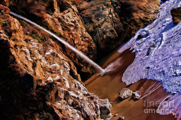 Photograph - Mcway Falls Flowing Waters by Blake Richards