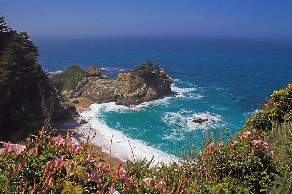 Wall Art - Photograph - Mcway Falls  by Donna Kennedy