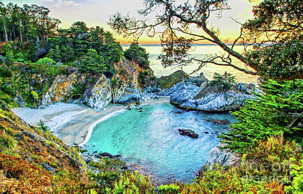 Mixed Media - Mcway Falls Canvas Print, Photographic Print, Art Print, Framed Print, Greeting Card, Iphone Case, by David Millenheft