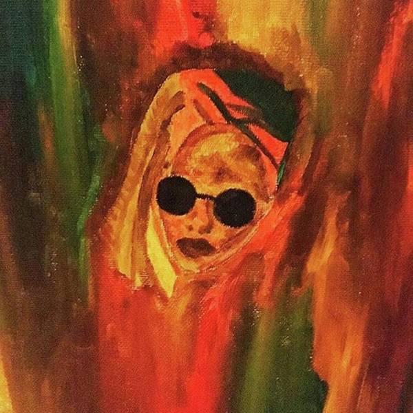 Abstract Painting - She. by Taleekqua Harris