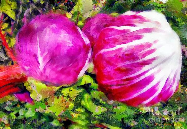 Painting - Me And Gustav At The Grocery Store by RC DeWinter