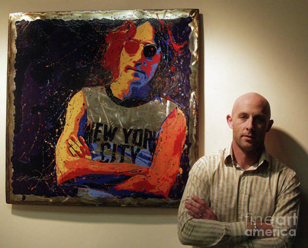 Me And My Mate John Art Print