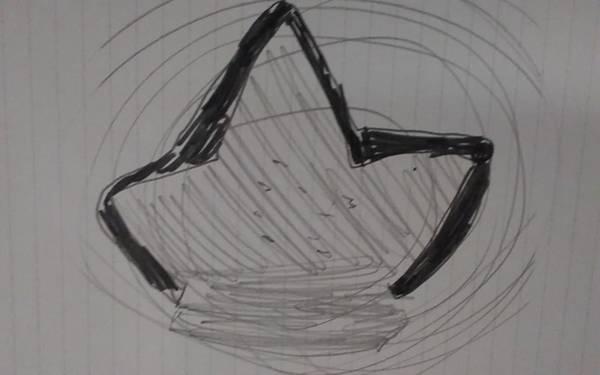 Drawing - Me Me Me Em Me Me Me Em Eme Me Meem Eme Me Me Mem E by Sari Kurazusi