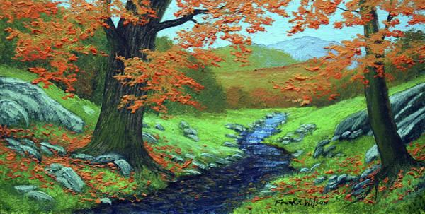 Painting - Meadow Brook by Frank Wilson