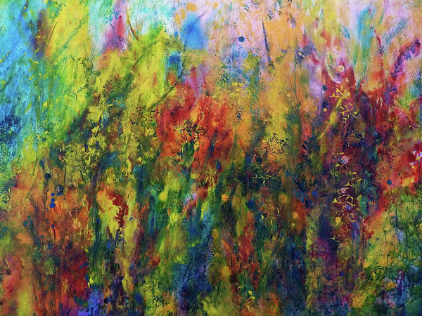 Painting - Meadow Flowers 2 by Claire Bull