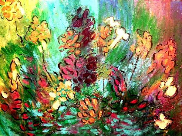 Painting - Meadow Garden by Nikki Dalton