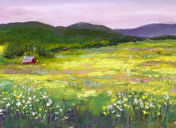 Painting - Meadow Of Flowers by David Patterson