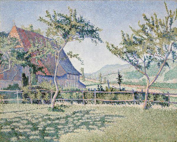 Full Bloom Painting - Meadow, Opus 161 by Paul Signac