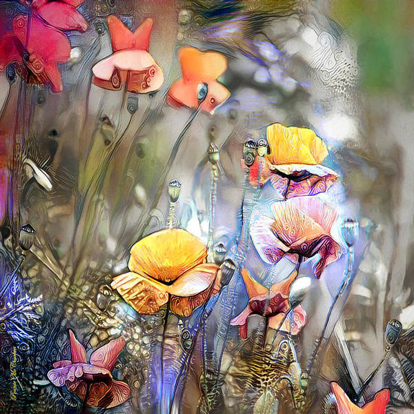 Digital Art - Meadow by Pennie McCracken