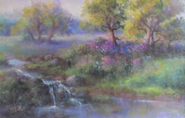 Pastel - Meadow Spring by Bill Puglisi