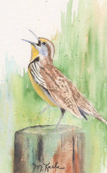 Painting - Meadowlark by Marsha Karle