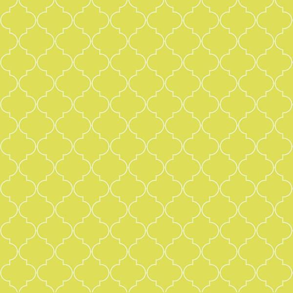 Meadowlark Digital Art - Meadowlark Quatrefoil by Ashley Wann
