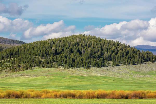 Photograph - Meagher County Landscape by Todd Klassy