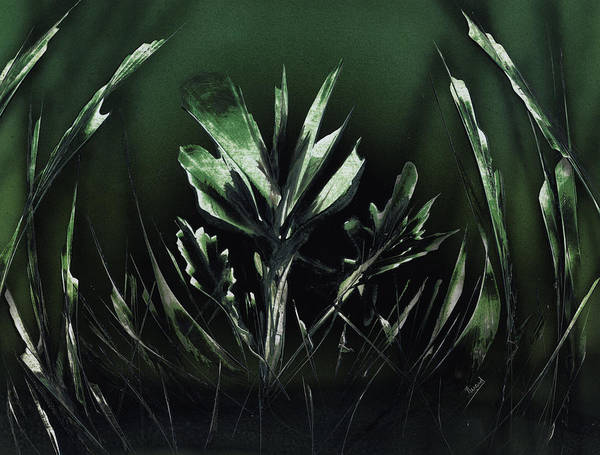 Painting - Mean Green by Jason Girard