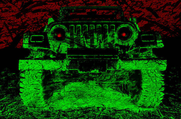 Photograph - Mean Green Machine by Luke Moore