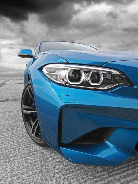 Wall Art - Photograph - Mean Mover Bmw M2 by Gill Billington