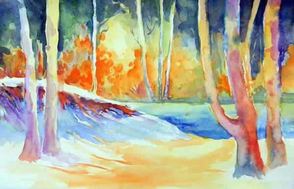Painting - A Secret Path by Caroline Patrick