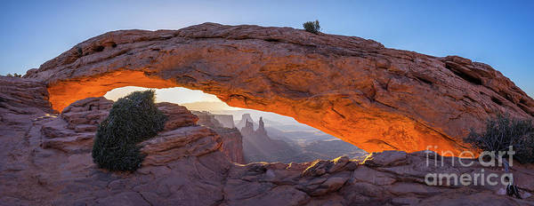 Wall Art - Photograph - Mesa Arch Panoramic by Anthony Heflin