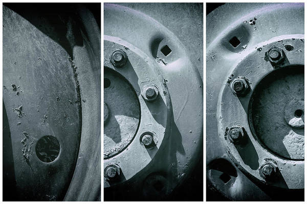 Photograph - Mechanical Cogs Of Time The Wheels by John Williams