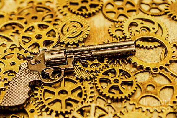Toy Gun Photograph - Mechanisms Of The Wild West  by Jorgo Photography - Wall Art Gallery