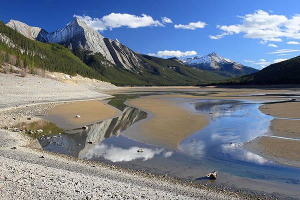 Photograph - Medecine Lake Jasper National Park by Pierre Leclerc Photography