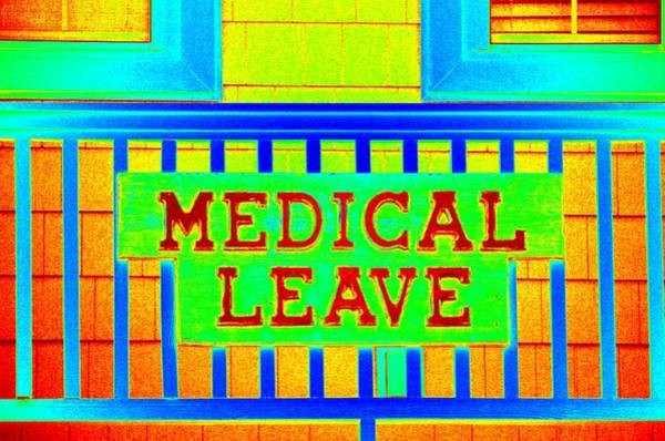 Mixed Media - Medical Leave Art by Cynthia Guinn