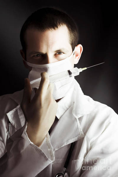 Photograph - Medical Surgeon With Prescribed Medicine Injection by Jorgo Photography - Wall Art Gallery