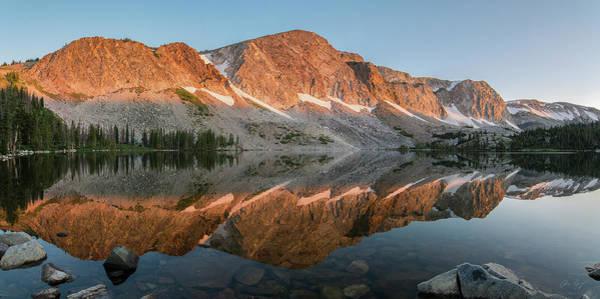 Photograph - Medicine Bow Sunrise Panorama by Aaron Spong