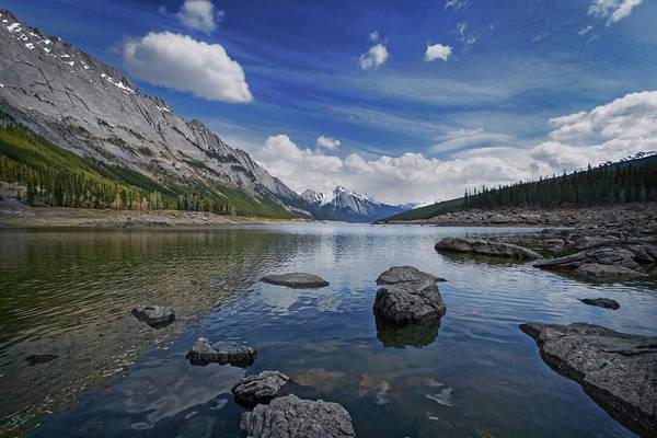 Photograph - Medicine Lake, Jasper by Dan Jurak