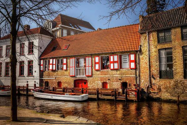 Belgian Photograph - Medieval Bruges  by Carol Japp