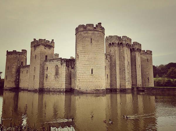 Bodiam Photograph - Medieval Castle by Vicky Adams