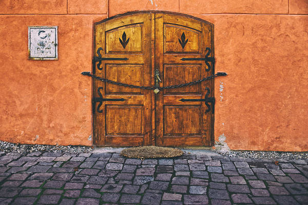 Photograph - Medieval Door Sighisoara by Adam Rainoff