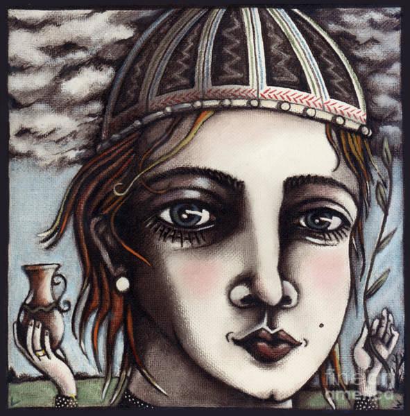 Painting - Medieval Herbalist by Valerie White