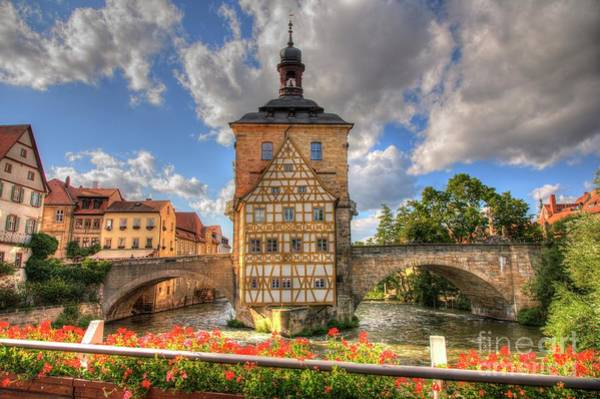 Photograph - Medieval Town Hall Bamberg by Heiko Koehrer-Wagner