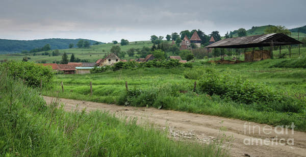 Photograph - Medieval Village, Transylvania by Perry Rodriguez