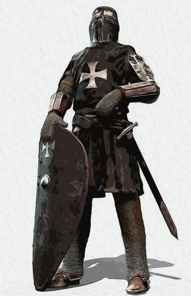 Medieval Warrior - 06 Art Print