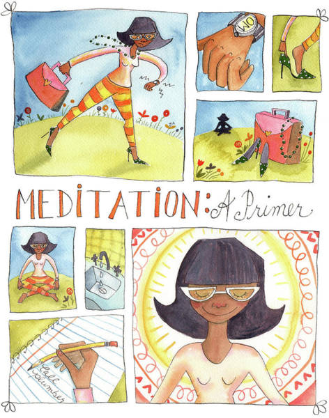 Wall Art - Painting - Meditation by Kristy Lankford