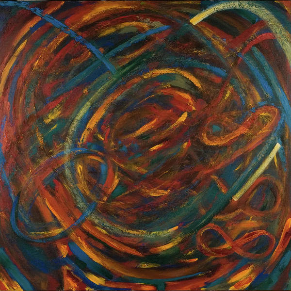 Wall Art - Painting - Meditation Painting #2 by Gretchen Dreisbach