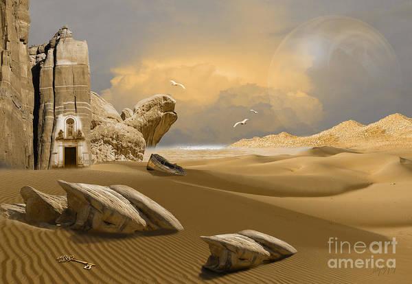 Digital Art - Meditation Place by Alexa Szlavics